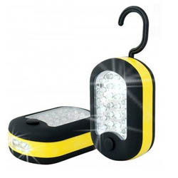 2PACK 27 LED Work Light Hook Flashlight with Magnet and 2 Light Modes