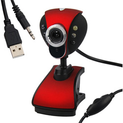 12M USB 2.0 6 LED WEB Camera Webcam + Mic for PC Laptop Desktop SKYPE MSN
