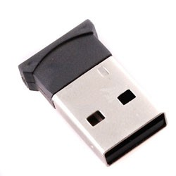 USB 2.0 Mini Smallest Bluetooth Dongle Adapter A2DP