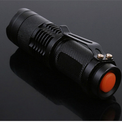 300LM 7W Mini CREE LED Flashlight Torch Adjustable Focus Zoom