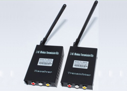 2.4GHz Wireless 2W Audio/Video Transmitter & Receiver
