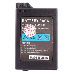 2400mAh Battery for Sony PSP PSP2000/PSP3000 F1156