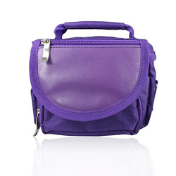 Game Bag Carry Case for Nintendo DS Lite NDSi LL NDSi XL 3DS NDSL N3DS Purple