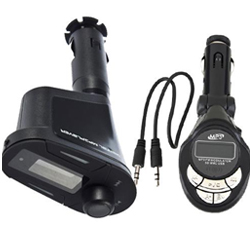 LCD Car Kit MP3 Player Wireless FM Transmitter USB 2.0 Modulator+ Remote Control