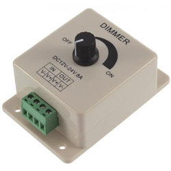 DC 12V 8A LED Light Dimmer Adjustable Bright Controller