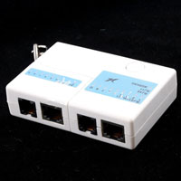 RJ45 RJ11 Mini Cat5 Network LAN Cable Tester keychain