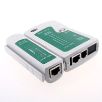 RJ45 RJ11 RJ12 CAT5 UTP NETWORK USB LAN CABLE TESTER