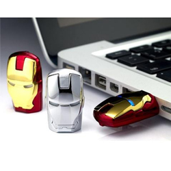 The unique iron man model USB 2.0 Enough Memory Stick Flash pen Drive 8G P51