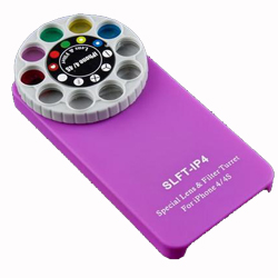 Holga Special Lens & Filter Turret Fashion Case Cover for iPhone 4 4S