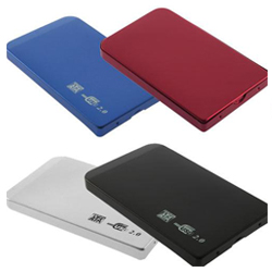 "USB 2.5"" 2.5 SATA Hard Driver Disk Mobile Case Enclosure Box slim durable Colors"