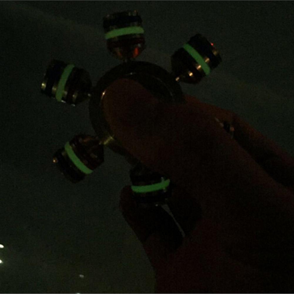 指先ジャイロ 六角 ピナー 高速回転 喫煙 面白い 人気な指遊び 知育玩具 真鍮 ウィジェット ラダー