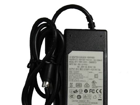 <strong> AC 100-240V, 50-60Hz DC 12V 7.5A 90W Adapter